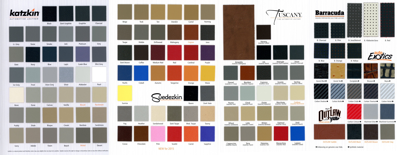 Katzkin Leather Catalogs Nuthouse Industries
