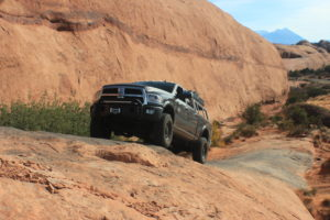 Dodge Ram Expedition Truck, Overlanding Truck, Truck Rack, Moab Utah offroad, Aluminum Truck Rack