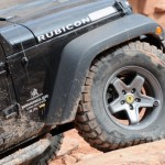 AEV JK Pintler Wheel in on Jeep Wrangler
