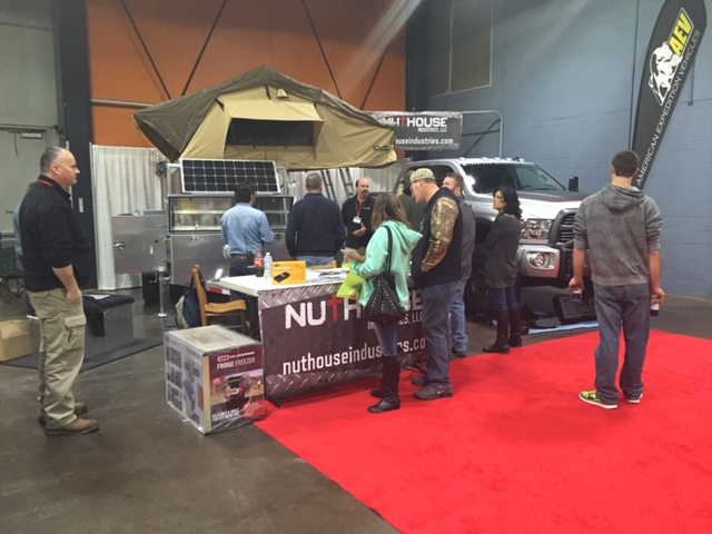 NutHouse Industries and Cincinnati Travel Sports and Boat Show 2016