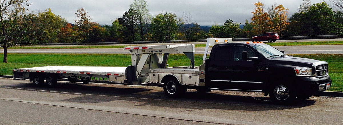 Service Body Hitches : Nuthouse industries all aluminum gooseneck trailers truck