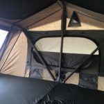 Peanut Trailer, Expedition trailer, Off road trailer, aluminum trailer, Nuthouse trailer, Nuthouse Industries, car camping, warm and dry camping, glamping, Ohio overland, ohio trailers, overland trailer, adventure trailer, 23Zero roof top tent, Sydney tent, RTT,