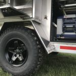 Peanut Trailer, Expedition trailer, Off road trailer, aluminum trailer, Nuthouse trailer, Nuthouse Industries, car camping, warm and dry camping, glamping, Ohio overland, ohio trailers, overland trailer, adventure trailer, ARB fridge