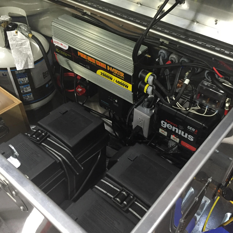 Electric panel module