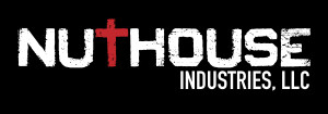 NutHouse Industries, LLC White on Black Logo