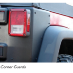 AEV JK Wrangler Rear Corner Guards