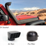 AEV JK Wrangler Snorkel Air Ram and Pre-Filter