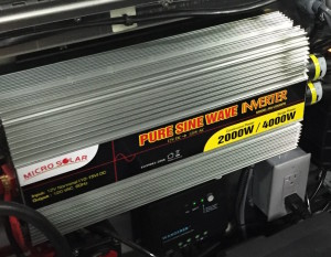 Inverter Package for Expedition Trailer