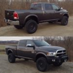 NutHouse Industries Ram Package - Front & Rear Views, Ohio truck lift. cincinnati truck lift, cincinnati truck upfitter