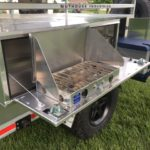 Peanut Expedition Trailer Cooktop Module