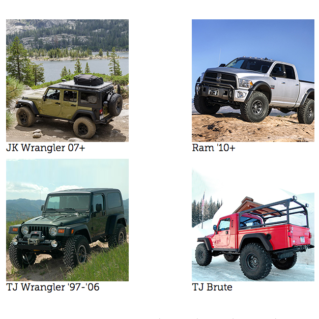 Build Your Vehicle