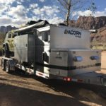 Acorn Toy Hauler, Overlanding, Car camping, Ohio Overland trailer, Aluminum Trailer, Roof Top Tent, Expedition Trailer,