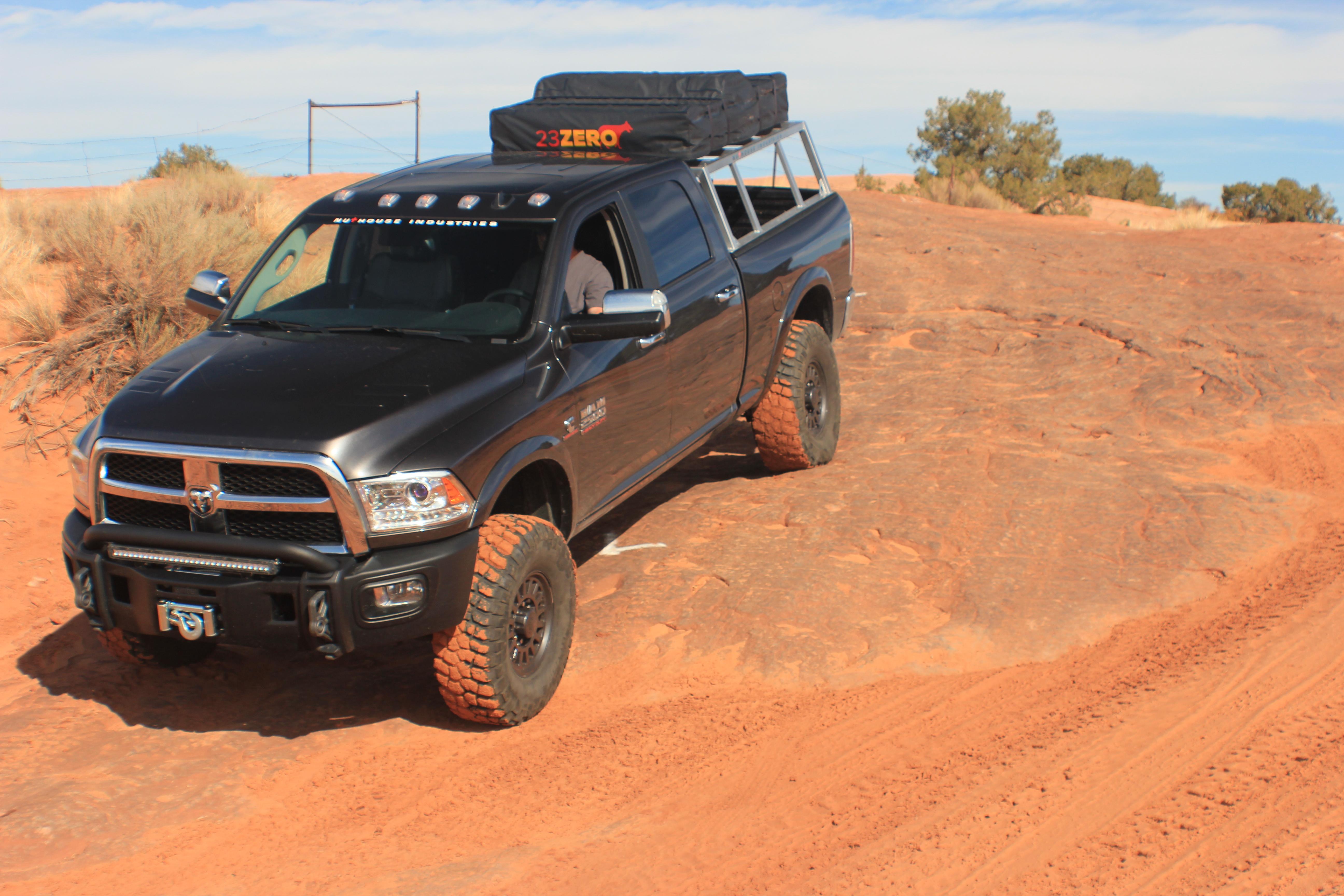 aa62f1b757 Dodge Ram Expedition Truck, Overlanding Truck, Truck Rack, Moab Utah  offroad, Aluminum