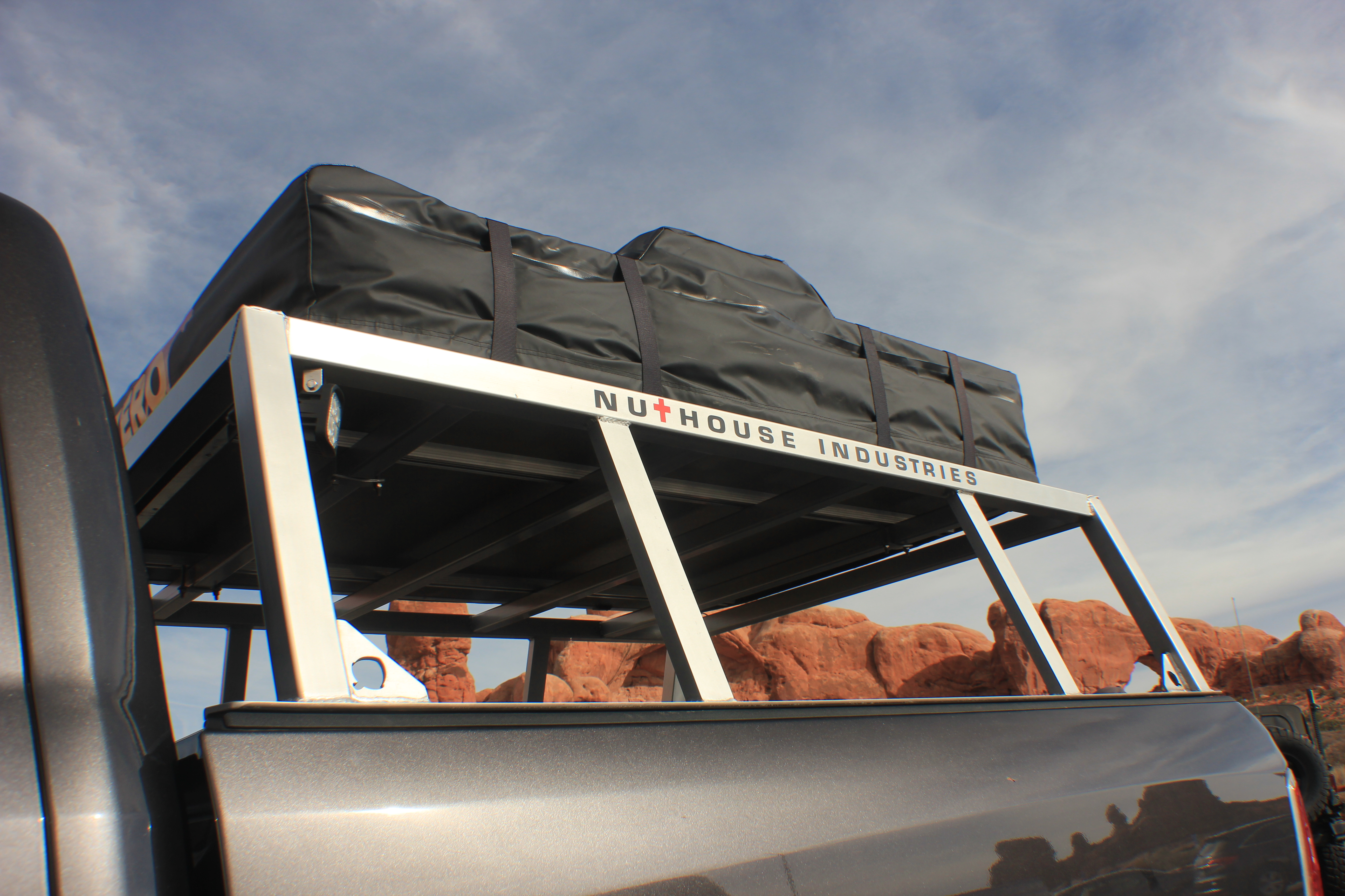 ... moab full size truck moab diesel truck RAM truck bed rack Roof Top & BUNDABERG ROOF TOP TENT - 23Zero - Nuthouse Industries