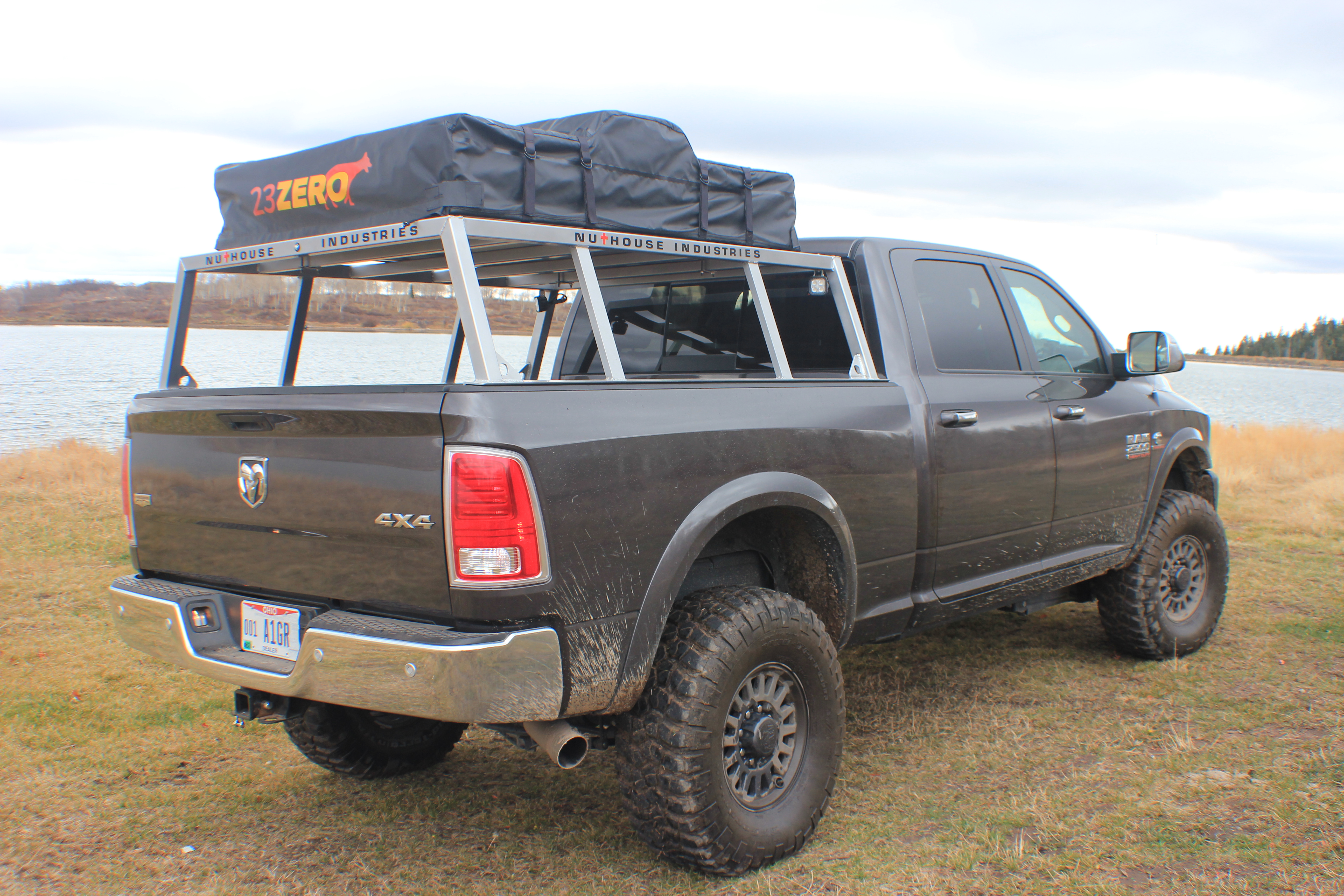 nutzo tech 1 series expedition truck bed rack nuthouse industries. Black Bedroom Furniture Sets. Home Design Ideas