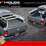 overlanding full size truck, car camping, truck camping, Aluminum Truck Rack, Expedition Truck Rack, Overlanding truck rack, RotoPax, RAM Box bed rack, Aluminum bed rack, truck bed rack, roof top tent rack,