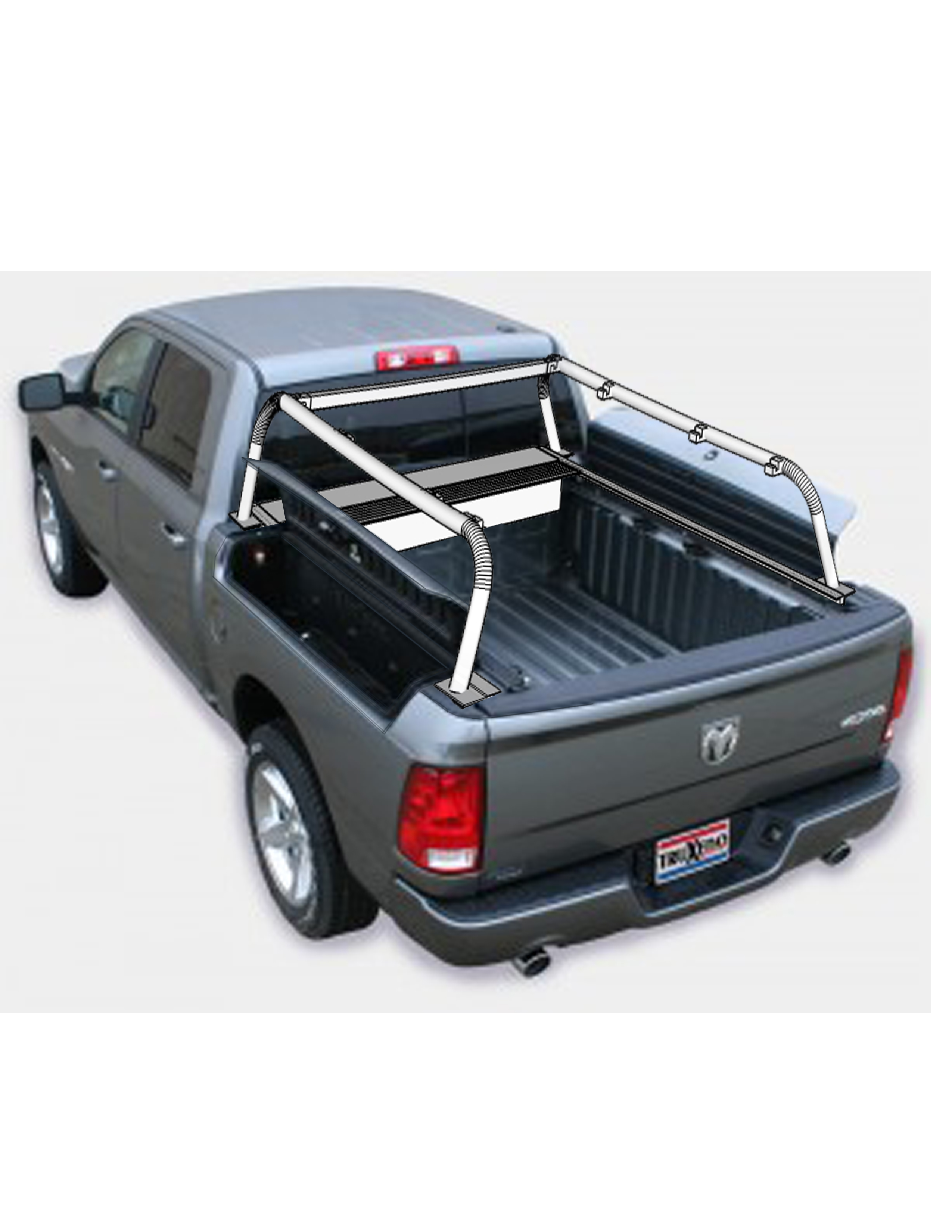 RAM box truck bed rack RAM box roof top tent overlanding roof top  sc 1 st  Nuthouse Industries & RAM Box with Rack retracted removed bars 2 - Nuthouse Industries