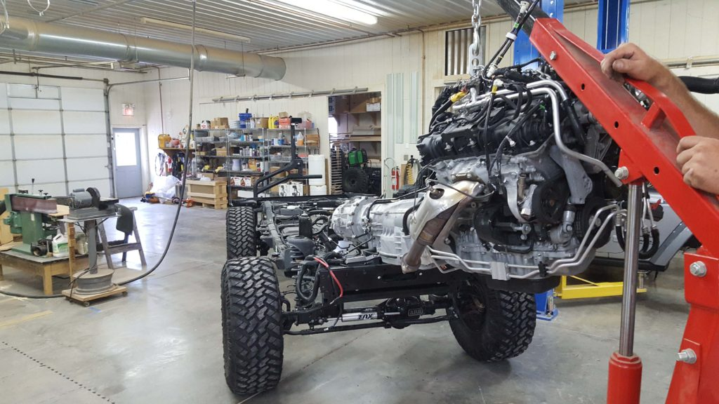 Hemi swap on Jeep JKU Rubicon