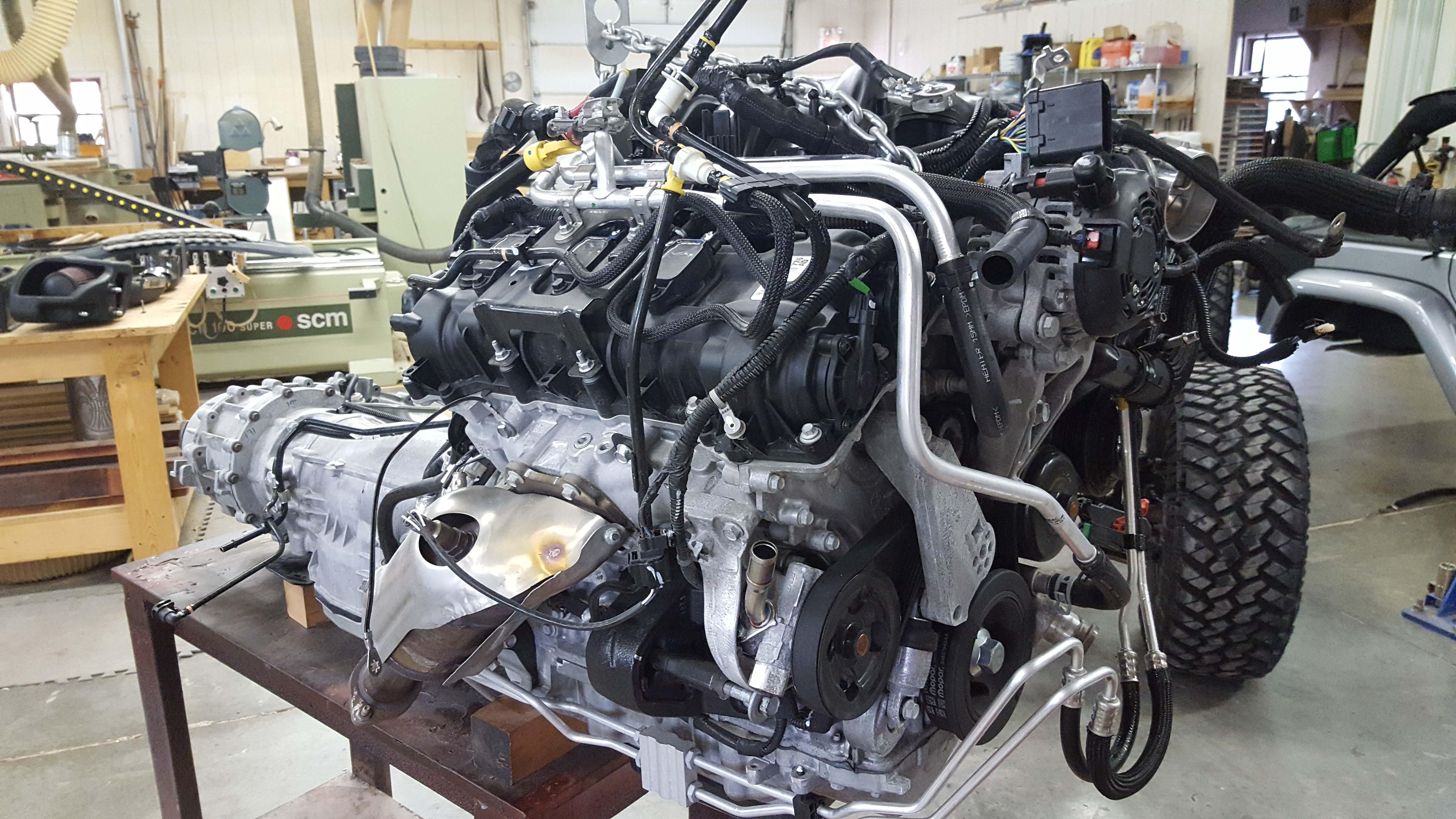 Jk Hemi Conversion Kit Nuthouse Industries Dodge Engine Swap Wiring Harness Jeep Cincinnati Ohio