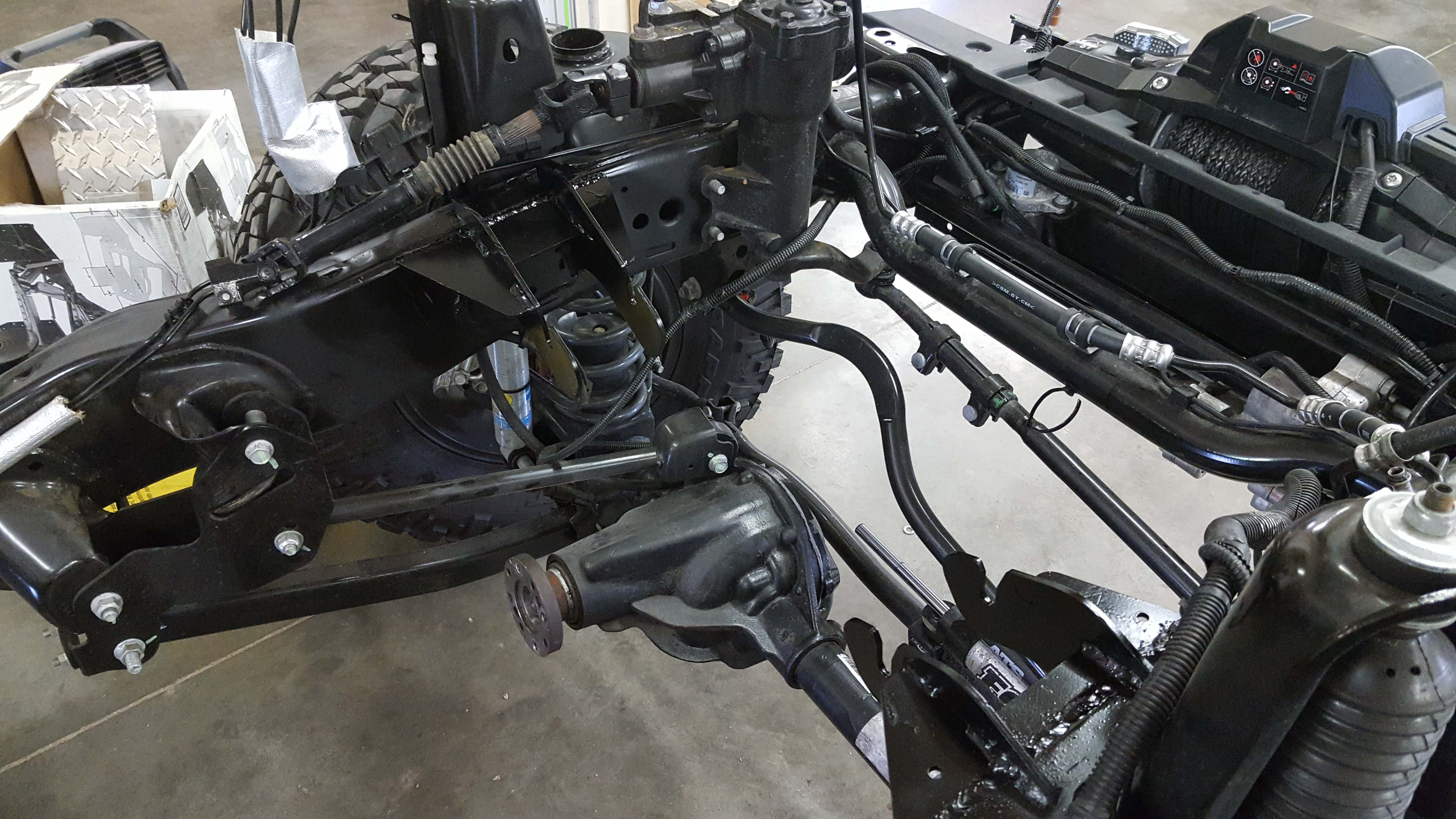 Jk Hemi Conversion Kit Nuthouse Industries Cool Tech Jeep Wiring Harness Swap Cincinnati Ohio