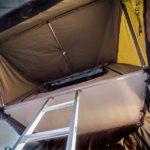 23Zero, Roof top tent, RTT, Car Camping, overlanding, overlanding tent, Byron, inside tent