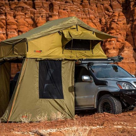 23Zero Roof top tent RTT Car C&ing overlanding overlanding tent & LITCHFIELD ROOF TOP TENT-23Zero - Nuthouse Industries