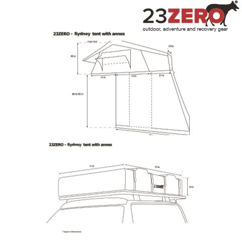 ... Roof top tent RTT Car C&ing overlanding overlanding tent ...  sc 1 st  Nuthouse Industries & SYDNEY ROOF TOP TENT - 23Zero - Nuthouse Industries