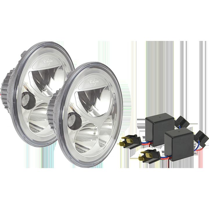 """Vision X, Vortex 7"""" LED Headlight, off road light, jeep lights, aftermarket jeep lights, cincinnati jeep lights, ohio jeep lights,"""