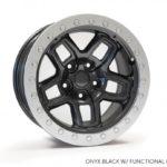 AEV Conversions JK Borah wheels, AEV Rims, Jeep Rims, 5 x 5, JK Rims, Jeep beadlock ring, AEV beadlock ring, off road rims, 4 x 4 rims, Borah onyx beadlock, Borah Onyx with beadlock ring
