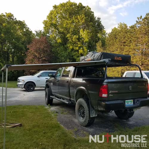 AEV Prospector with Roof top tent rack