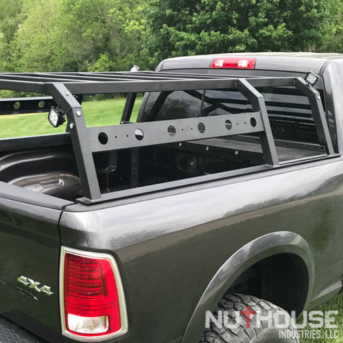Truck Bed Racks White Bed