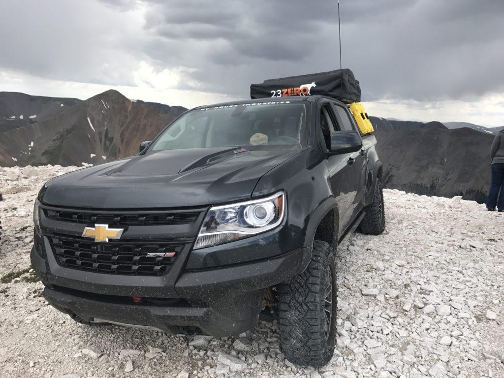 ZR2 Overlanding Truck Rack