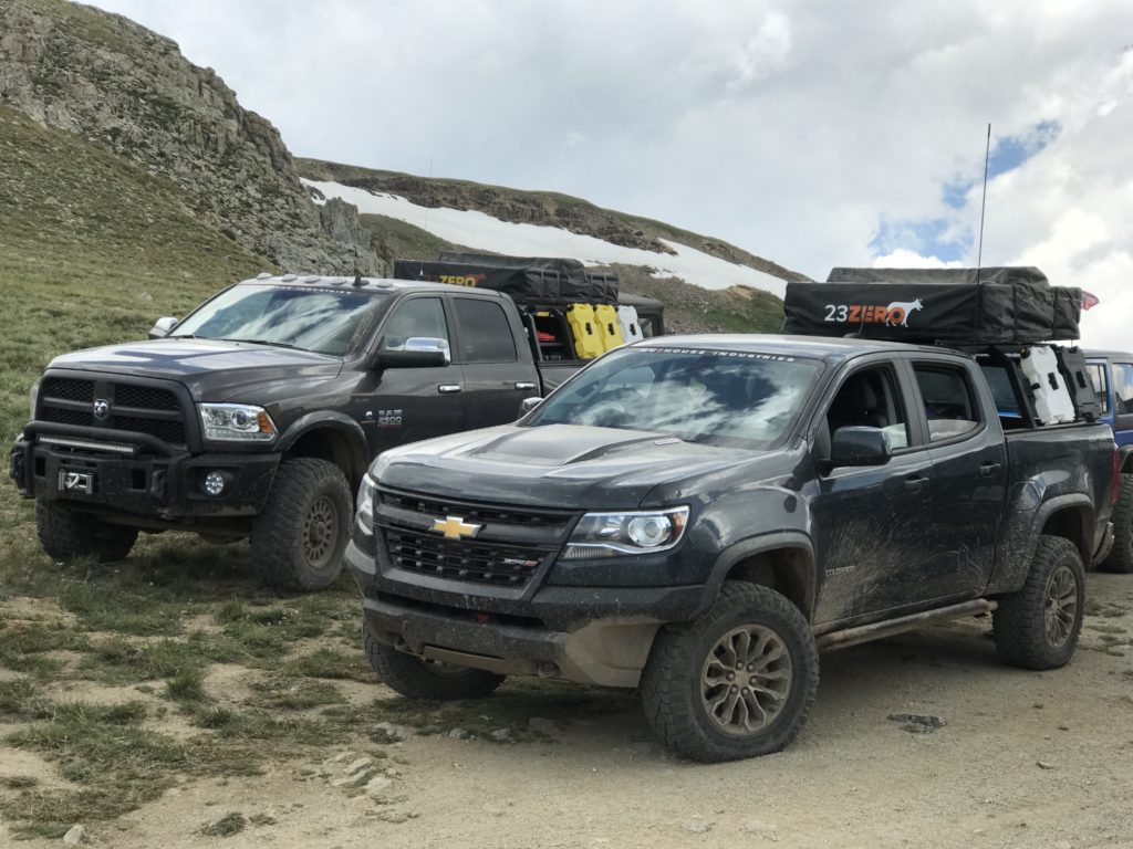 Overlanding truck