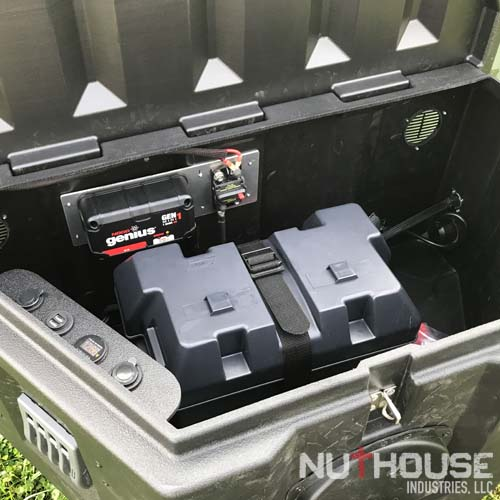 M101 Trailer with custom tongue box