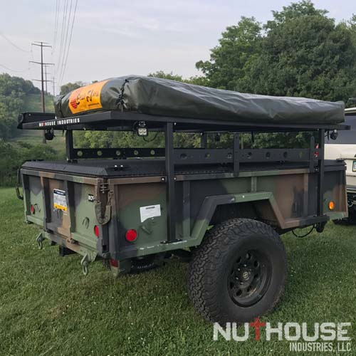 nutzo expedition trailer racks nuthouse industries