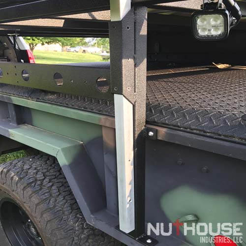 M101 Trailer with custom NutHouse Industries Rack