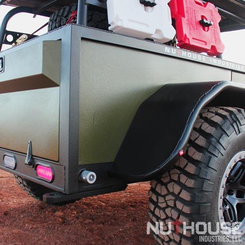 Hickory Aluminum Expedition Trailer
