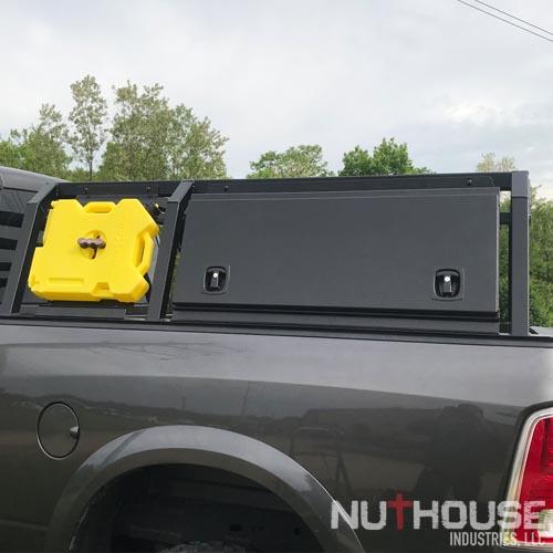 Aluminum truck bed rack, Overlanding rack,