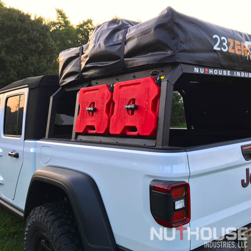 Jeep With Truck Bed >> Nutzo Gladiator Series Expedition Truck Bed Rack