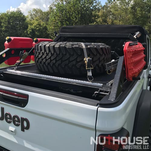 Nuthouse Industries, Nuthouse Industries rack, Nuthouse, aluminum truck rack, aluminum bed rack, aluminum expedition truck rack, overland rack, overland truck rack, expedition truck bed rack, overland gear, roof top tent rack, RTT rack, custom truck rack, overland, overland pickup, overland pickup truck, offroad pickup, pickup truck rack, overlanding full size truck, car camping, truck camping, ladder rack, removable cross bar, tacoma truck rack, truck bed rack, expedition truck, rotopax, best overland rack, truck vault, overland storage, action packer for car camping, overland vehicles, Nuthouse rack, Nuthouse industries, nutzo rack, ford super duty rack, ford raptor, ford f150, gm rack, chevy rack, colorado bed rack, tacoma bed rack, ford bed rack, toyota overland rack, tacoma overland, expedition rack, expedition truck, off road truck rack, offroad truck , rack, off road truck bed rack, mid size truck rack, mid size overland, off road rack, rotopax, vision x, vision x dura mini, cvt rack, cvt tent rack, diesel overland, overland diesel, maxtrax, tred pro, traction plate, , truck rack awning mount, overland awning mount, expedition truck rack awning mount, 23 Zero rack, chase rack, best overlanding rack, nuthouse industries, nuthouse industries rack, nutzo rack, aluminum rack, aluminum overlanding rack, aluminum rtt rack, trailer tent, Off road expedition bed rack, off road bed rack, off road truck bed rack, adventure rack, bed cage, aluminum storage boxes, universal mounting plate, made in the USA, American made, east coast overlanding, Rotopax, rotopax gas can, rotopax, water can, rotopax storage, rotopax fuel, built in the USA, Spare tire shelf, store extra gear on Rambox, overland rack extra gear,Jeep Truck, Jeep Gladiator, Jeep JT, JT, Jeep truck rack, Jeep Gladiator Rack, Jeep JT Rack, JT rack, Jeep truck expedition rack, jeep gladiator expedition rack, jeep jt expedition rack, JT expedition rack, Jeep truck bed rack, jeep gladiator truck bed rack, Jeep JT truck bed rack, JT truck bed rack, Jeep adventure rack, Jeep Gladiator adventure rack, jeep jt adventure rack, jeep truck adventure rack, jeep truck bed cage, jeep gladiator bed cage, jeep jt bed cage, jt bed cage, jeep truck rtt rack, Jeep gladiator RTT rack, Jeep JT RTT rack, JT RTT rack, Jeep Expedition truck, jeep truck overlanding, jeep gladiator overland, jeep jt overland, JT overland, 419 0verland, pick and shovel overland, jeep truck chase rack, jeep gladiator chase rack, jeep jt chase rack, jeep truck ladder rack, jeep gladiator ladder rack, jeep jt ladder rack, Gladiator expedition rack, gladiator truck rack, gladiator adventure rack, gladiator bed rack, gladiator bed cage, gladiator overland, gladiator chase rack, gladiator ladder rack, gladiator bed cage, Chase rack, Jeep chase rack, gladiator chase rack, jt chase rack, adventure rack, jeep rack, jt rack, gladiator rack, bed rack, aluminum bed rack, aluminum chase rack, maxtrax, rotopax, hi-lift, hi-lift jack, Nuthouse Industries, expedition bed rack, best jt rack, best gladiator rack, jt tire carrier, gladiator tire carrier, tire carrier rack, Maxtrax storage box, maxtrax storage tray, maxtrax acorn box, maxtrax box, quick maxtrax access, secure maxtrax storage, easiest maxtrax storage, traction board storage, Hard deck, aluminum truck bed cover, Dry truck storage, secure truck bed, truck bed shelf, coiling cover, coiling truck cover, aluminum coiling cover, retracting coil cover, Removable panel hard deck, truck bed with removable cover, load bearing truck cover, aluminum truck cover, locking truck cover, secure truck bed cover, strongest truck bed cover, headache rack, cargo rack, truck bed rack with cover,